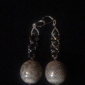 Jewelry - Handmade Big Drop Earrings